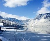 Bohinjsko jezero pozimi