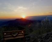 Donačka gora sončni zahod