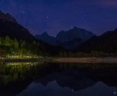 jezero Jasna ponoči