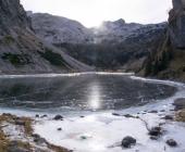 Krnsko jezero pozimi