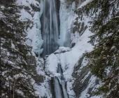 Martuljški slapovi pozimi