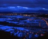 Šmarna gora zvečer