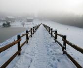 Šmartinsko jezero pozimi