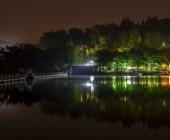 Šmartinsko jezero ponoči