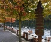 Zbiljsko jezero jeseni