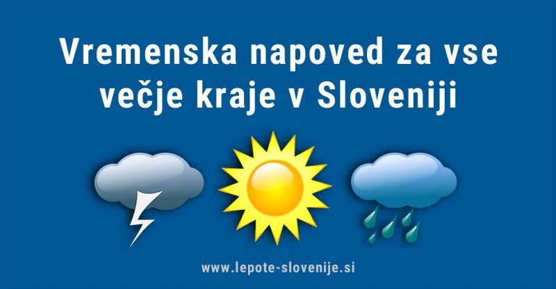 vreme Slovenija