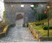 Blejski grad - vhod