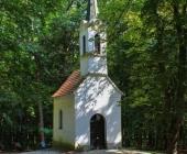 Bukovniško jezero - cerkvica