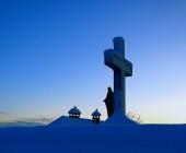 Zasavska Sveta gora pozimi