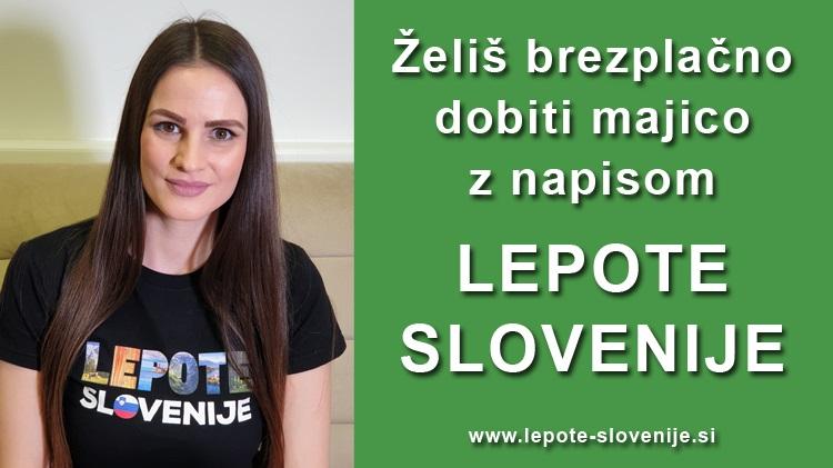 Osvoji brezplačno majico Lepote Slovenije