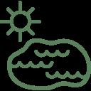 jezero-green
